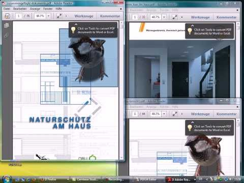 Mehrere PDF zusammenfügen - Video Anleitung HD