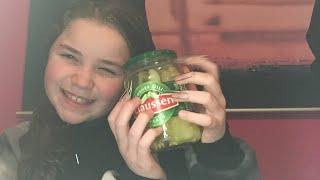 Eating pickles Asmr