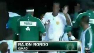 NBA Finals 2010 Game 5 Boston Celtics Introduction !!! AMAZING