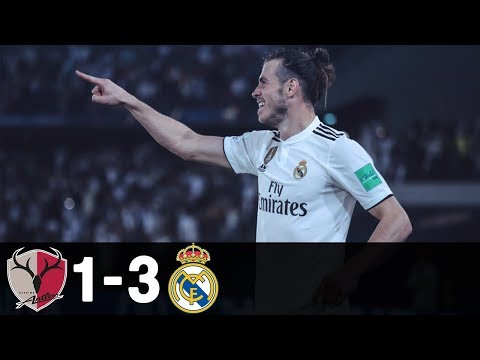 Bale Hattrick ⚽🔥 Kashima Antlers vs Real Madrid 1-3 Highlights 19/12/2018 HD
