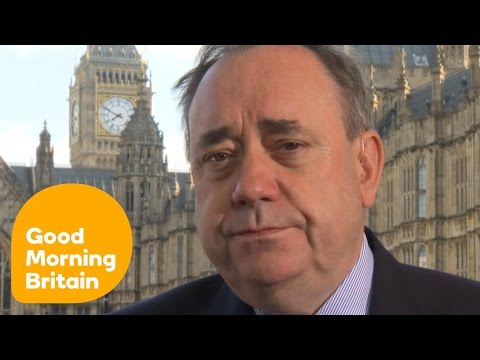 Alex Salmond Reacts To Brexit And Scottish Independence | Good Morning Britain