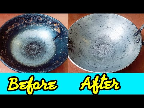 How to Clean Kadai Tips | Utensils Cleaning Hacks | Cook with Monika