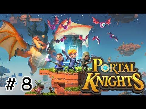 Portal Knights PS4 En Español 2019 ¡¡ LOS C,THIRIS INVOCAN A UNA EXTRAÑA CRIATURA !! #8
