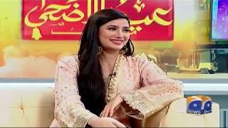 Fahad Mustafa Aur Mehwish Hayat Se Jhat Pat Sawal Jawab – Geo Pakistan