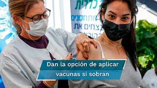 Hasta ahora casi dos millones y medio de residentes en Israel han recibido la primera dosis y cerca 900 mil la segunda, según cifras del Ministerio de Sanidad