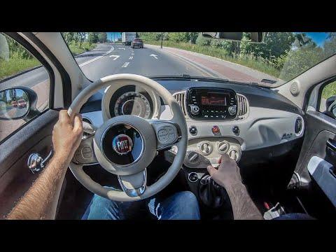 Fiat 500 II | 4K POV Test Drive #252 Joe Black