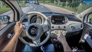Fiat 500 II | 4K POV Test Drive #252 Joe Black