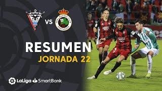 Resumen de CD Mirandés vs Real Racing Club (0-0)