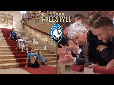 FREESTYLE col PAPU GÒMEZ !! L' ATALANTA Reagisce ai Campioni Italiani ! Footwork Italia