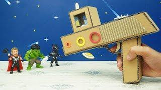 DIY Marble Gun from Cardboard - Easy Cardboard Crafts