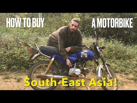 How to Buy a Motorbike UNDER $200!! Vietnam, Cambodia, Laos, SouthEast |COMPLETE GUIDE- Tips 2021