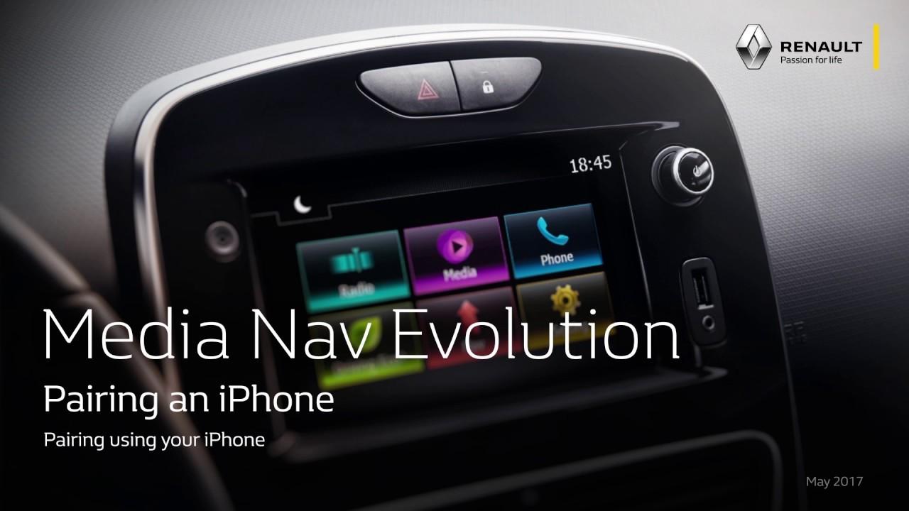 media nav evolution pairing an iphone youtube. Black Bedroom Furniture Sets. Home Design Ideas