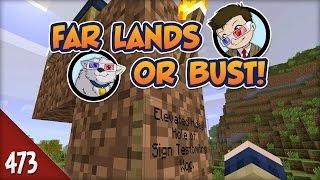 Minecraft Far Lands or Bust - #473 - Vanishing Sign