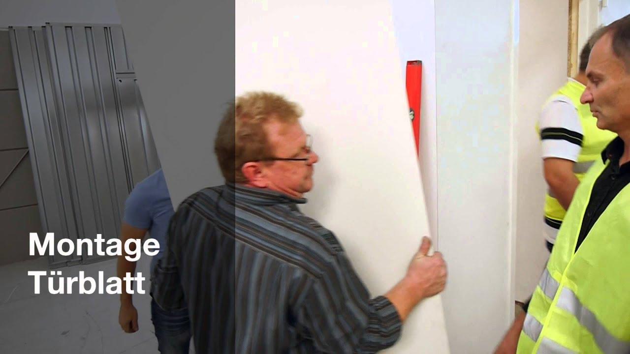 oft BAUMEISTER Feuerschutztür - Montagevideo - YouTube UZ43