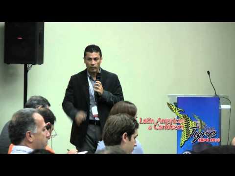 Wilberth Campos - Bridgestone Costa Rica- 2013 Latin Tyre Expo
