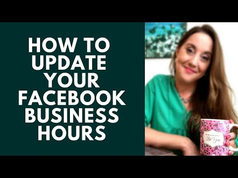 How to Update Business Hours on Facebook