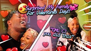 Surprising My Wife & Kids For Valentines Day!