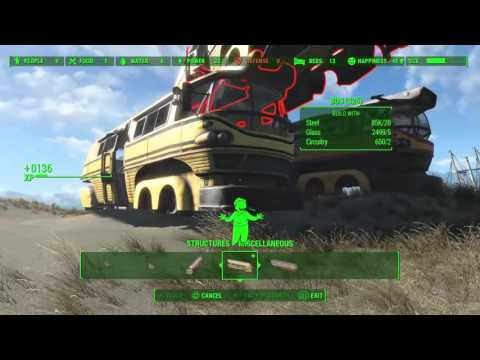 Fallout 4_wasteland workshop dlc items showcase part 1 |