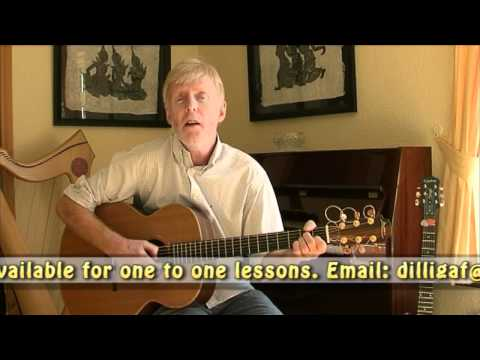 Guitar Tutorial - Danny Boy - Irish Folk Songs