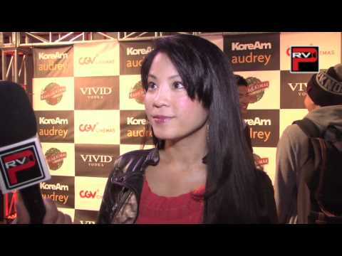 Karin Anna Cheung at the Harold and Kumar 3D Christmas KTown Premiere