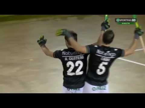 Hóquei Patins :: 06J :: Sporting - 4 x Valongo - 1 de 2015/2016