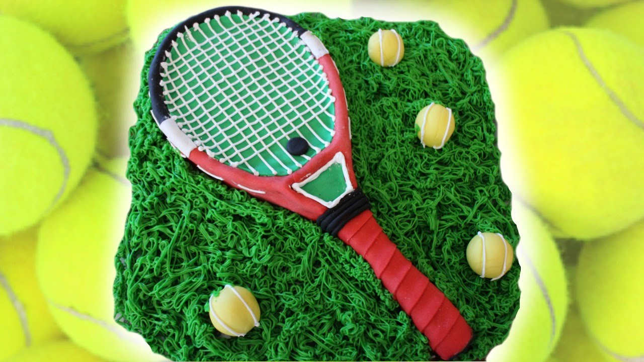 TENNIS THEMED CAKE TUTORIAL Marcos Soler YouTube