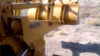 KOMATSU  TRACK LOADER WITH WINCH ,DIESEL ENGINE