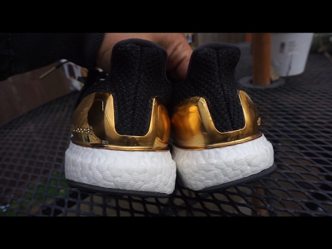 d6ee3f664a0 Adidas Ultra Boost Gold Medal adidas -watch 1080p HD - YouTube
