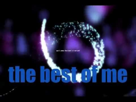 Goo Goo Dolls The Best of Me-lyric video
