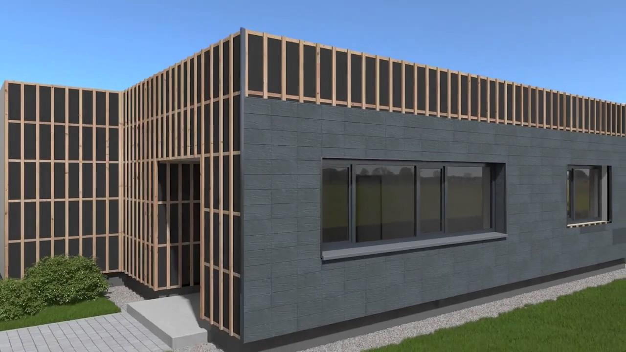 fassadenelemente zierer terra youtube. Black Bedroom Furniture Sets. Home Design Ideas