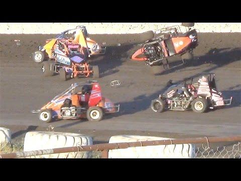 600 Micro Sprint  MAIN  7-3-16  Petaluma Speedway