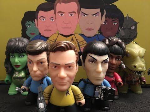 Star Trek Where No Man Has Gone Before Titans Vinyl Figures Full Case Unboxing