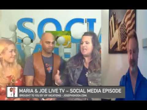 """""""Social Media"""" ~ Maria & Joe Live TV ~ March 1, 2018 ~ Segment 4"""