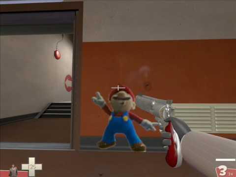 Team Fortress 2: The Demoman Hates Sexy Anime Sprays - YouTube