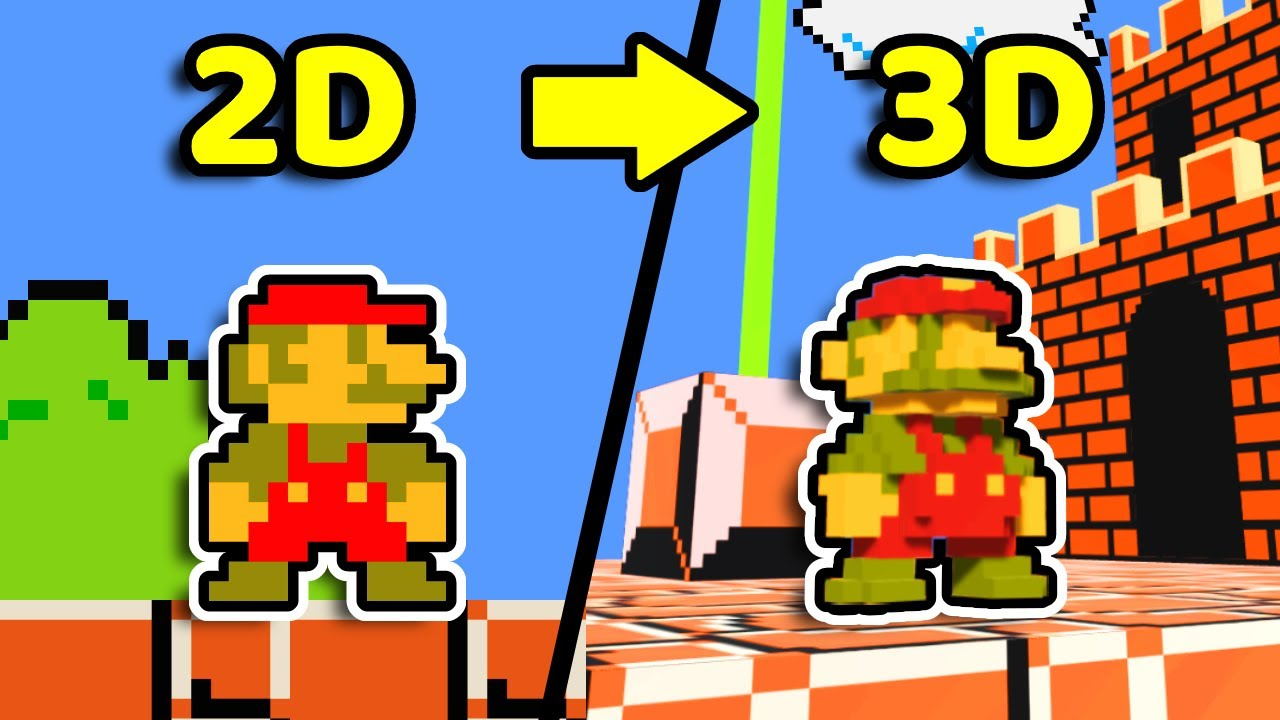 I Made Super Mario Bros but it's 3D