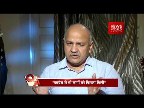 EXCLUSIVE Q&A: Delhi Deputy CM Manish Sisodia Interview With NWI Managing Editor Anil Rai