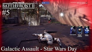 Star Wars Battlefront II PS4 Gameplay #5 (May The 4th Be With You)