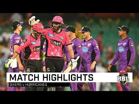 Philippe, Vince guide Sixers past Hurricanes | KFC BBL|08