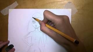 Как нарисовать Монстер Хай