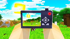 USING A REAL LIFE CAMERA IN MINECRAFT!
