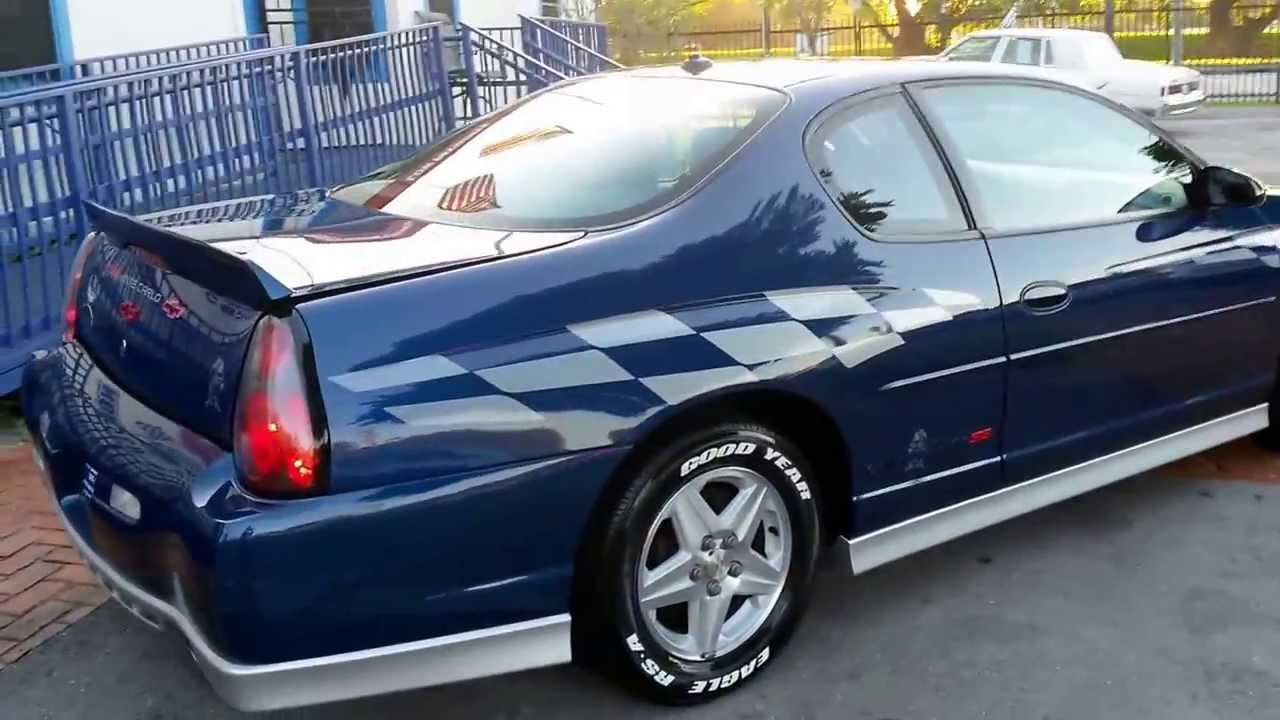 2003 monte carlo ss pace car 571 miami fl youtube. Black Bedroom Furniture Sets. Home Design Ideas