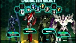 Transformers Prime The Game - Multiplayer Mode - Emblem Battle