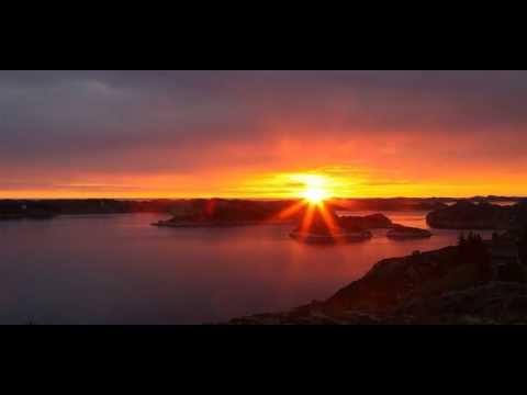 Timelapse av solnedgang på Utsikten, Sekkingstad.