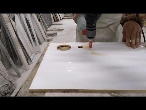 Сверление отверстий в мраморе своими руками