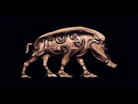 Making the Pictish Boar for Trollsky
