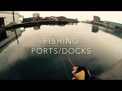 Fishing Ports Harbors - Jumpa Lures - Fiske Västra hamnen - Malmö Öresund