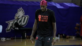 The Toronto Raptors Restart in Florida | Open Gym: Moment presented by Bell