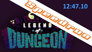 Speedrun: Legend of Dungeon seed% 12:47