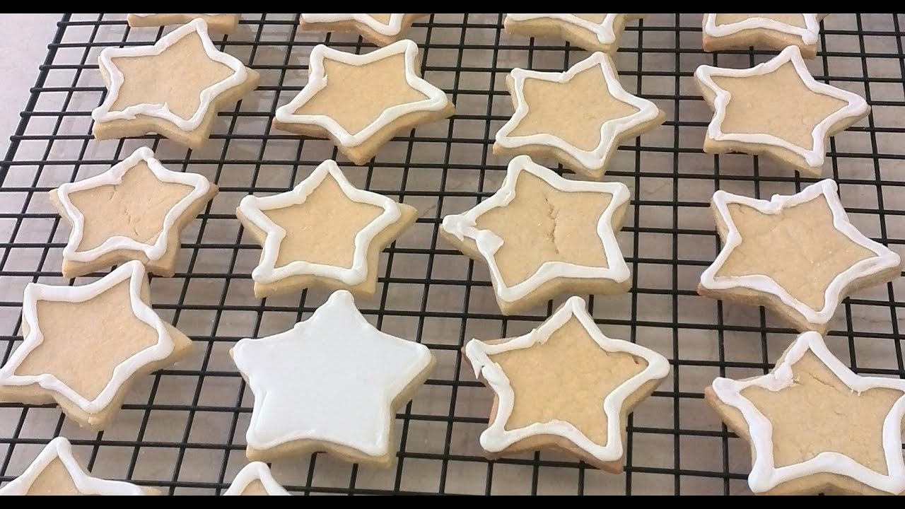 Wilton cut out cookie icing recipe
