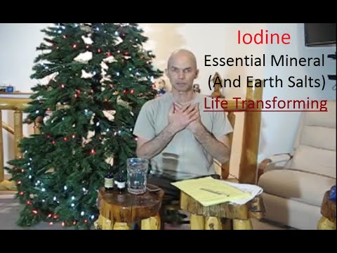 Iodine Miracle (Evidence Based), Restore Health, Heart; Remove Fluoride, Bromide, Cloride, Metals